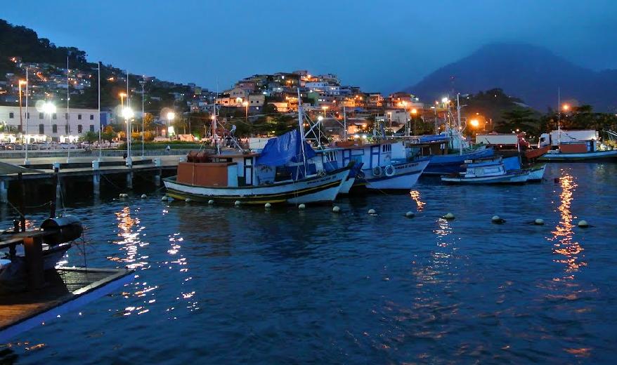 Pesqueros de noche