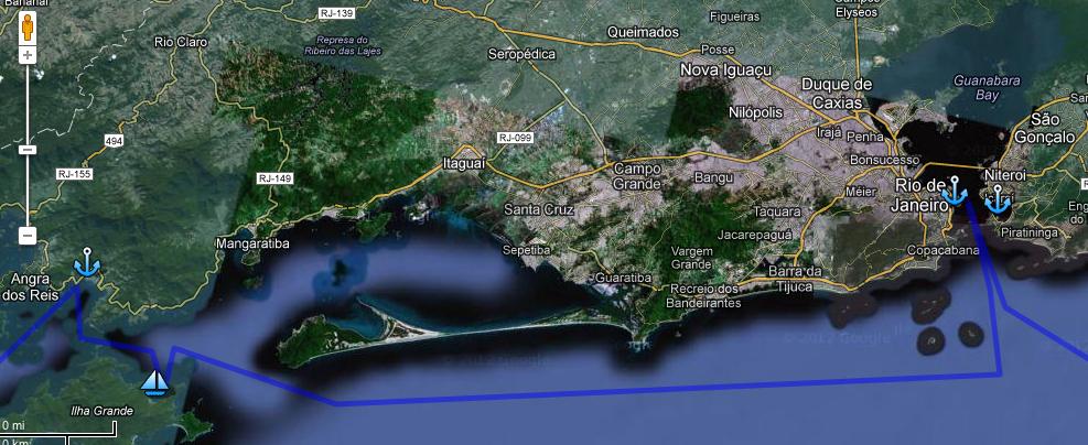 Ruta Dia 26 - de Angra a Rio de Janeiro