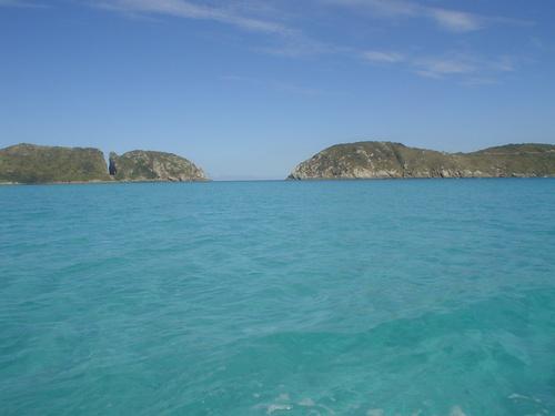El famoso Boqueirao cerca de Arraial Do Cabo