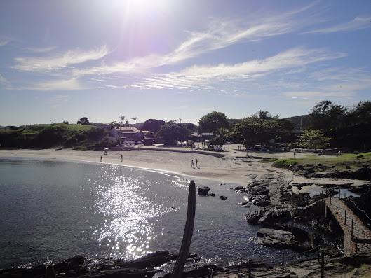 El comienzo de la praia