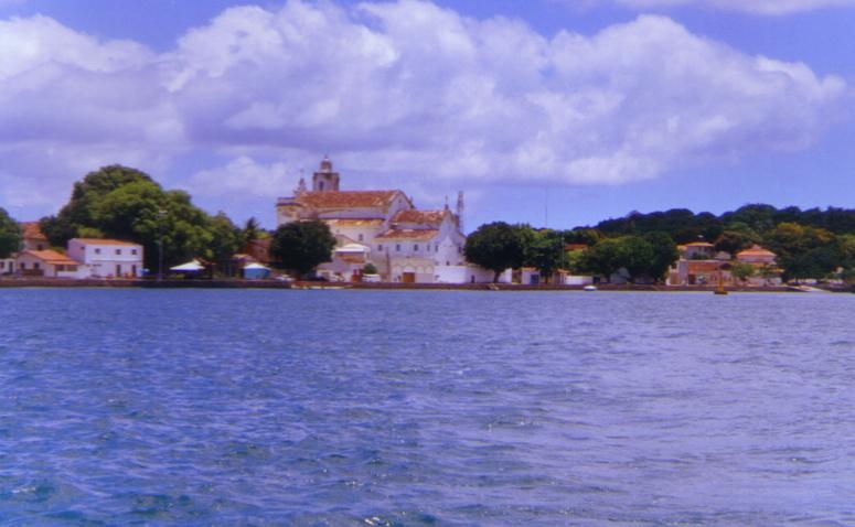 El centro de Itaparica
