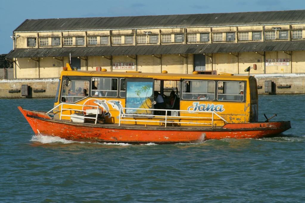 Ferry de Cabedelo sale a pasear turismo