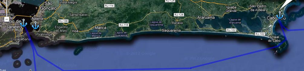 Dia 31: La Ruta entre Niteroi y Cabo Frio