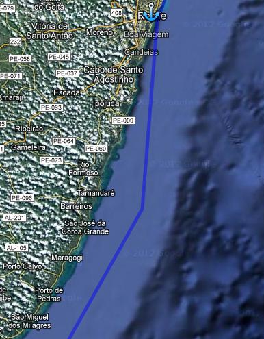 Ruta Dia 49: Entrada a Recife
