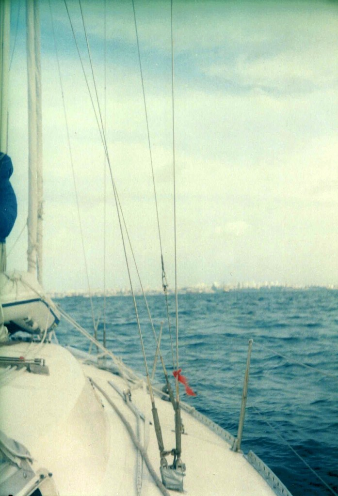 Salvador de Bahia visto desde el agua