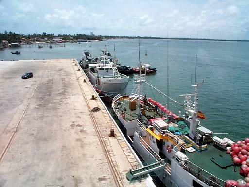El puerto de Cabedelo - que nunca conocimos.