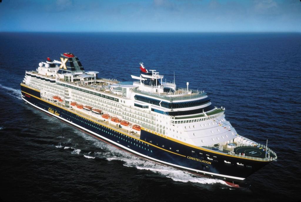 El Constelation, crucero que nos paso cerquita saliendo de Barbados a vela