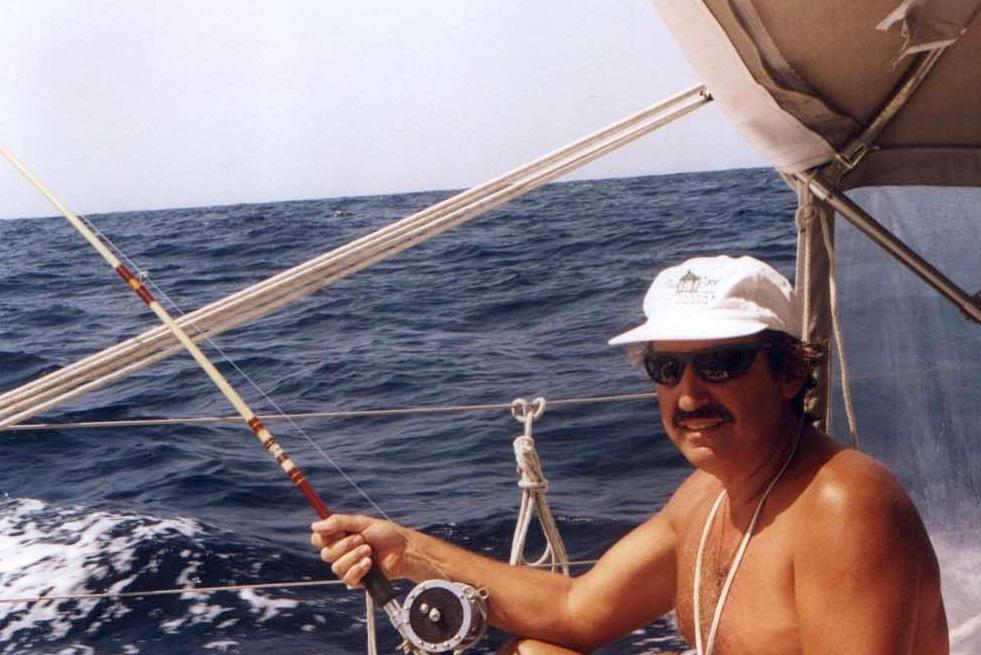 Edu pescando