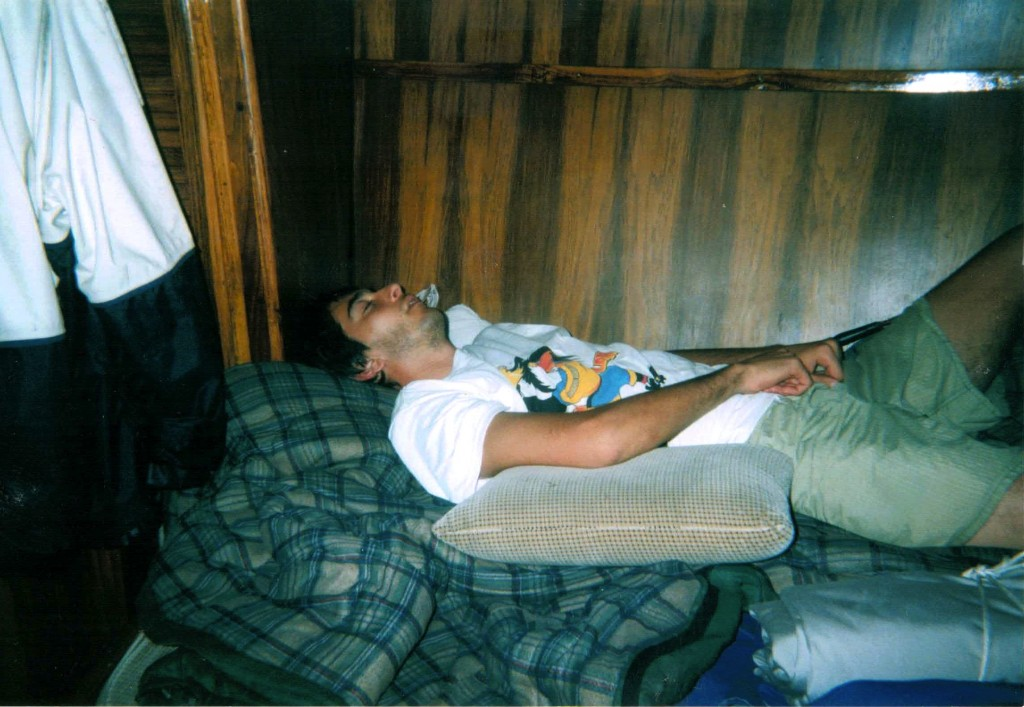 Iñaki se durmio leyendo a Allende