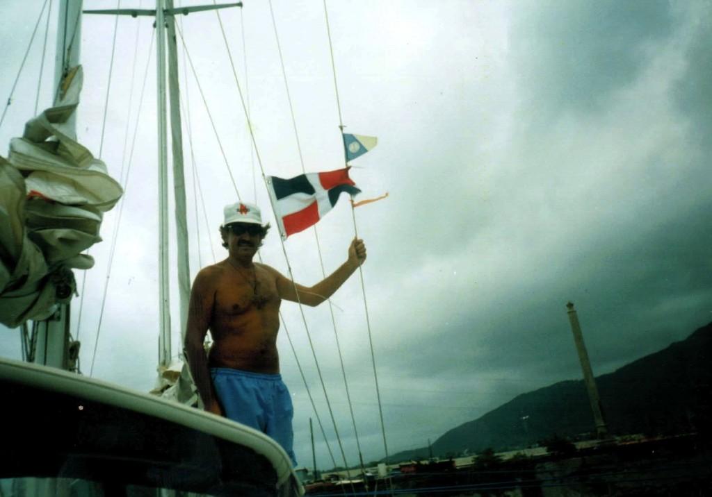 Edu feliz de haber llegado a la Republica Dominicana